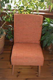 70's style small chair