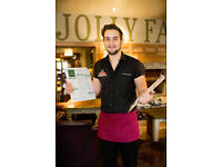 Part Time Bartenders - Up to £7.20 per hour + tips - Jolly Farmers - Enfield - Middlesex