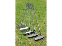 5 Putters: Wilson/Odysey/TopFlite/Dunlop/System-2