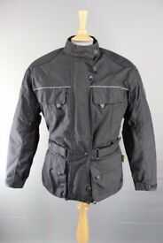 B-SQUARE BIKER JACKET WITH DETACHABLE QUILTED THERMAL SECOND LINING