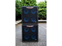 2 x Ashdown ABM410 Evo bass cabinets