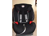 BRITAX EVOLVA 123 CAR SEAT - 9 MONTHS - 12 YEARS