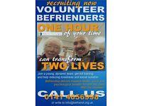 Volunteer Befriender - one hour per week