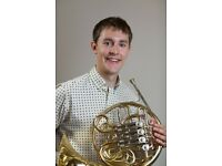 FRENCH HORN/PIANO MUSIC TEACHER TUTOR IN NORTH LONDON - BRASS INSTRUMENT LESSONS AT STUDENT'S HOUSE