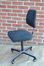Swivel study chair