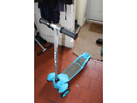 Zinc Edrift 12v Electric Scooter 8mph Great Fun Great Price in Blue - Used