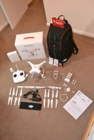 DJI Phantom 3 Standard with Manfrotto Imagine More Aviator Backpack