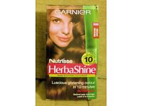 NEW, Still Sealed Garnier Nutrisse HerbaShine Semi Permanent Medium Brown Hair Colour, Histon