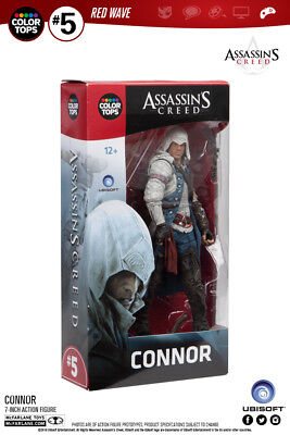 Assassins Creed Connor Red Wave #5 Color Tops 18 cm Action Figur McFarlane (Assassins Creed Figur Mcfarlane)