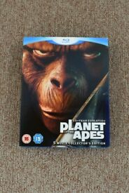 Blu-ray Planet of the Apes 5 movie collectors set