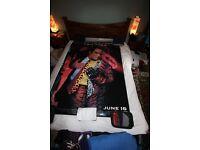 Very RARE Batman Forever 1995 Original Bus Shelter Movie Posters Set of 6 + 1