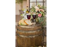 Rustic Wooden Barrel / Milk Churn Hire