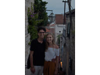 Ann and Filip are looking for a room from (26.07-02.09)