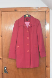 Gallery Cerise Stylish Coat, size M