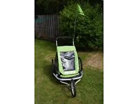 RESERVED - Croozer Kid for 2 Bike Trailer/Buggy/Jogger