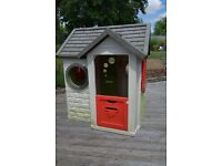 Smoby 'My House' Childrens Garden Playhouse
