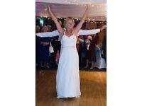 Beautiful wedding dress size 12