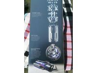 New and boxed DYSON Small Ball Total Clean Upright Bagless Vacuum Cleaner Red Lightweight with tools