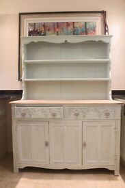 Old Charm welsh dresser - chalk paint & waxed