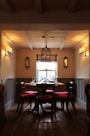 FULL TIME KITCHEN STAFF REQUIRED AT TOP COTSWOLD PUB/INN