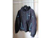 Men's ski jacket in dark blue/off black. Dare 2 Be brand.