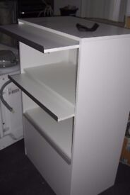 large media or office cabinet with up and over doors excellent condition can deliver