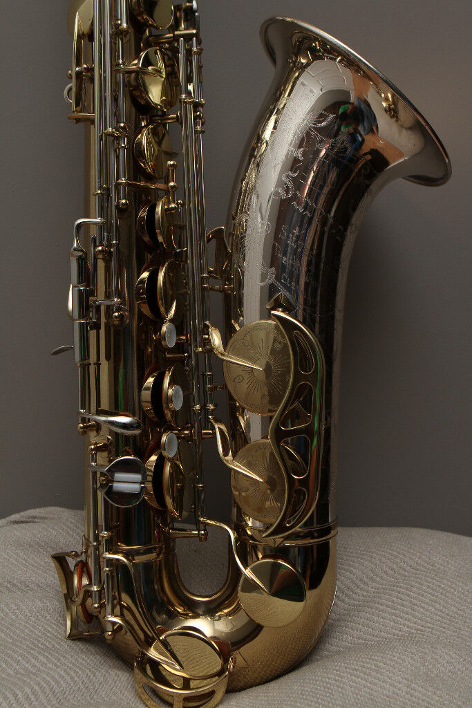 King Super 20 Silver Sonic Tenor Saxophone, 1964, mint condition!