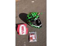 Bell Transfer 9 Full face helmet size M