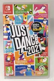 Just Dance Nintendo Switch Cartridge