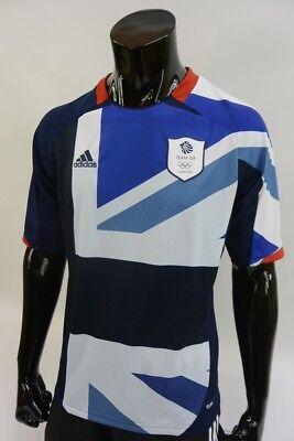 adidas Olympics LONDON 2012 Team GB Football Home Shirt SIZE 2XL XXL (adults) image