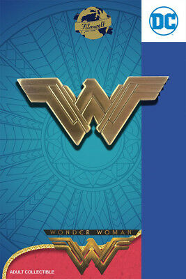 Wonder Woman Logo - exklusiver Sammler Collectors Pin Metall - DC Comics - neu