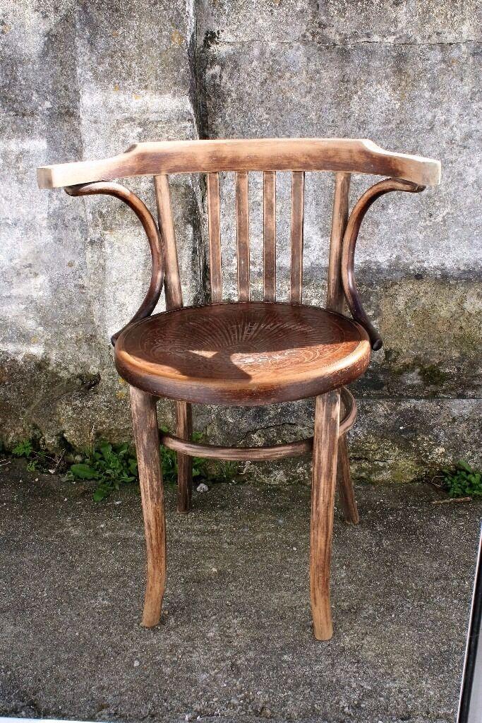 Fischel Vintage Bentwood Chair In Truro Cornwall Gumtree