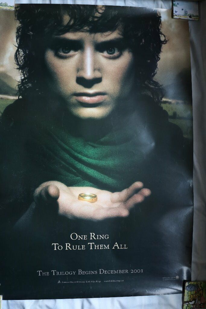 Lord of the Rings Poster and bag