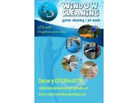 window cleannig, gutter cleaning, pressure cleaning/jet wash