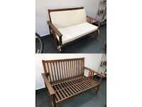 John Lewis Garden Bench - 2 seater - Teak - Great Condition