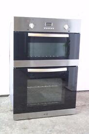 Caple Built-In Double Oven.Stainless Steel.Digital Display.12 Month Warranty.