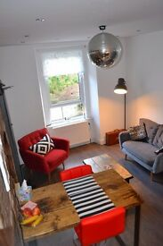 Edinburgh Festival Let: 2 Bedroom Flat With Free Parking