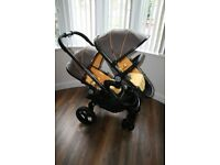iCandy Peach single / double pushchair - Honeycomb CAN POST