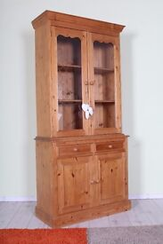 DELIVERY OPTIONS - QUALITY MADE 3 FT SOLID PINE DRESSER WAXED LIGHT COLOUR