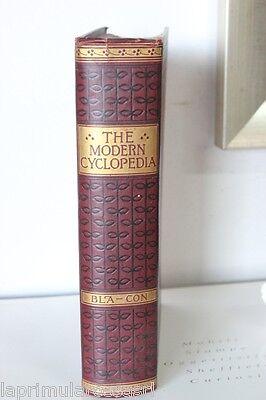"""VECCHIA  ENCICLOPEDIA """"THE MODERN CYCLOPEDIA"""" VOLUME II / LIBRO INGLESE 1904"""