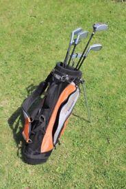 """Hippo Evolution """"Junior"""" Golf Bag/Stand & Clubs"""