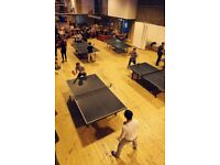 Wiff Waff Wednesday - Table-tennis night in Leith