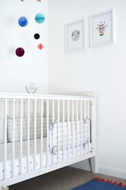 Lovely Mamas & Papas Cotbed For Sale