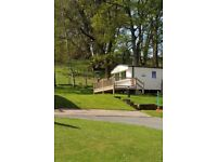 STATIC CARAVAN FOR SALE 2016, sited on quiet site in Stanhope with stunning views