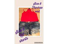 RI shorts size 6