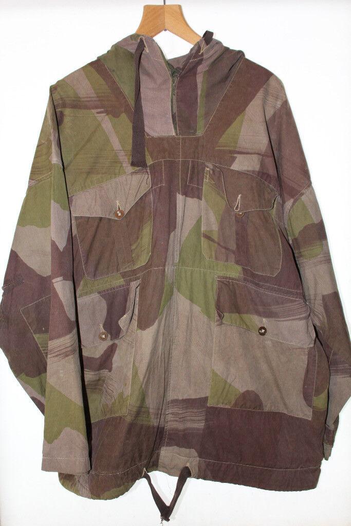 Ww2 Windproof Smock 1943 Large Camo Sas Uniform Vintage