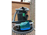 Pond Vacuum cleaner and Pond Air Pump