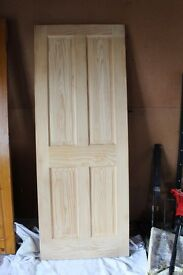 Internal Georgia Pine door