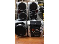 Baird 3 disc music system
