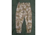New - Rare, Desert BDU Combat Trousers, (from Jordanian or Libya Army contract)